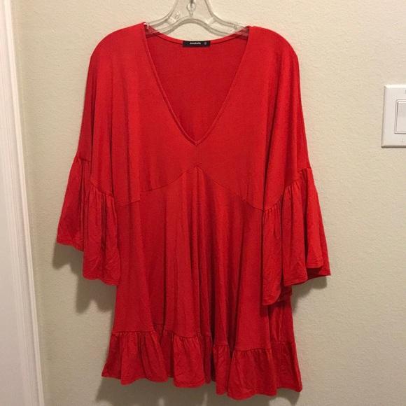 ba47ffcf5fe Annabelle Tops - 🏝 Annabelle Poppy Red Tunic Fits like XL New